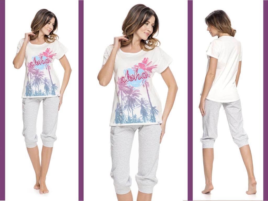 piżama damska Aloha 5023 Dobranocka