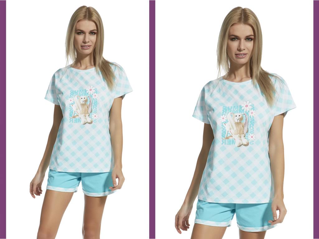 Piżama damska Rabbit, Cornette