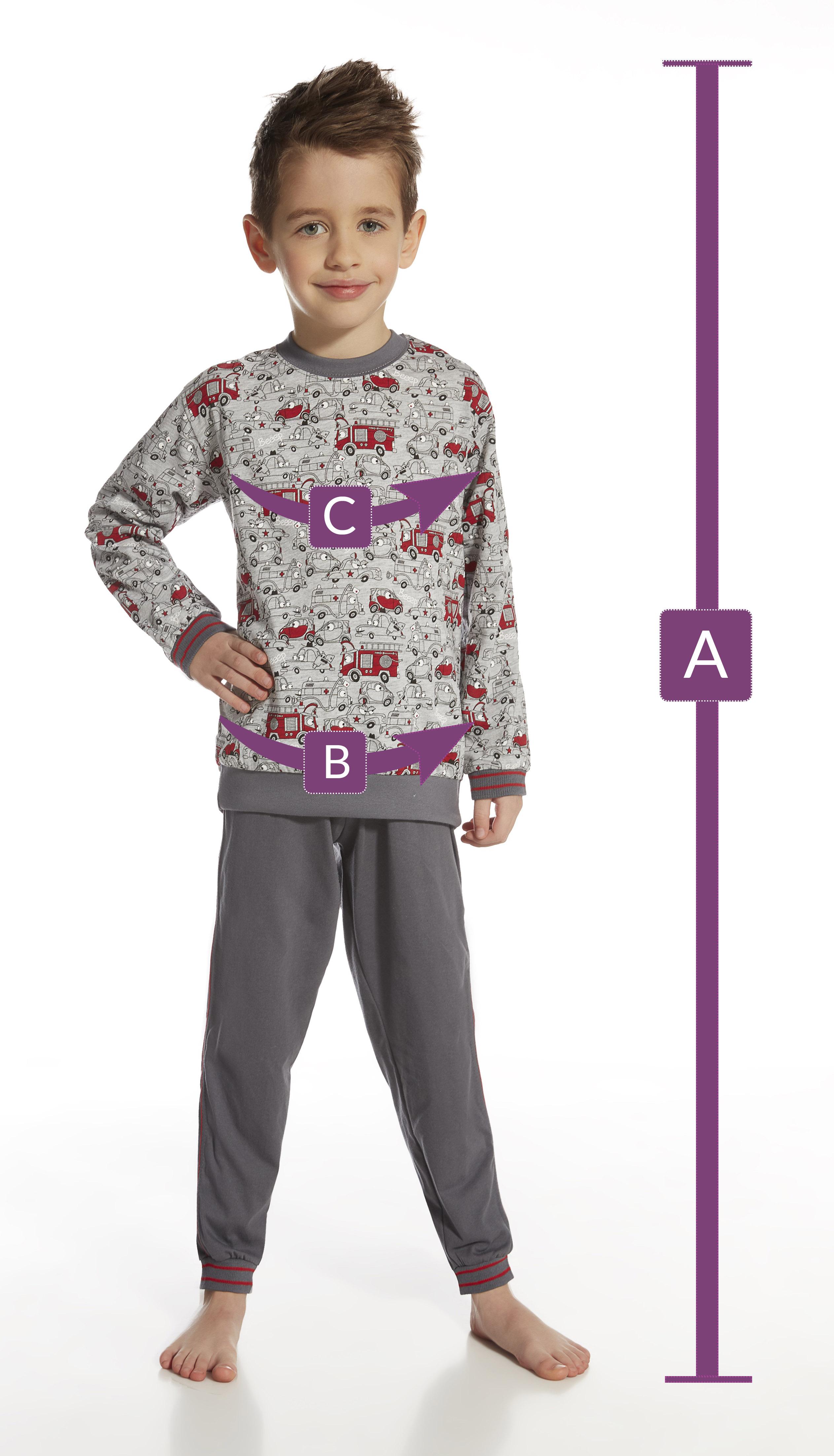 piżama - wymiary