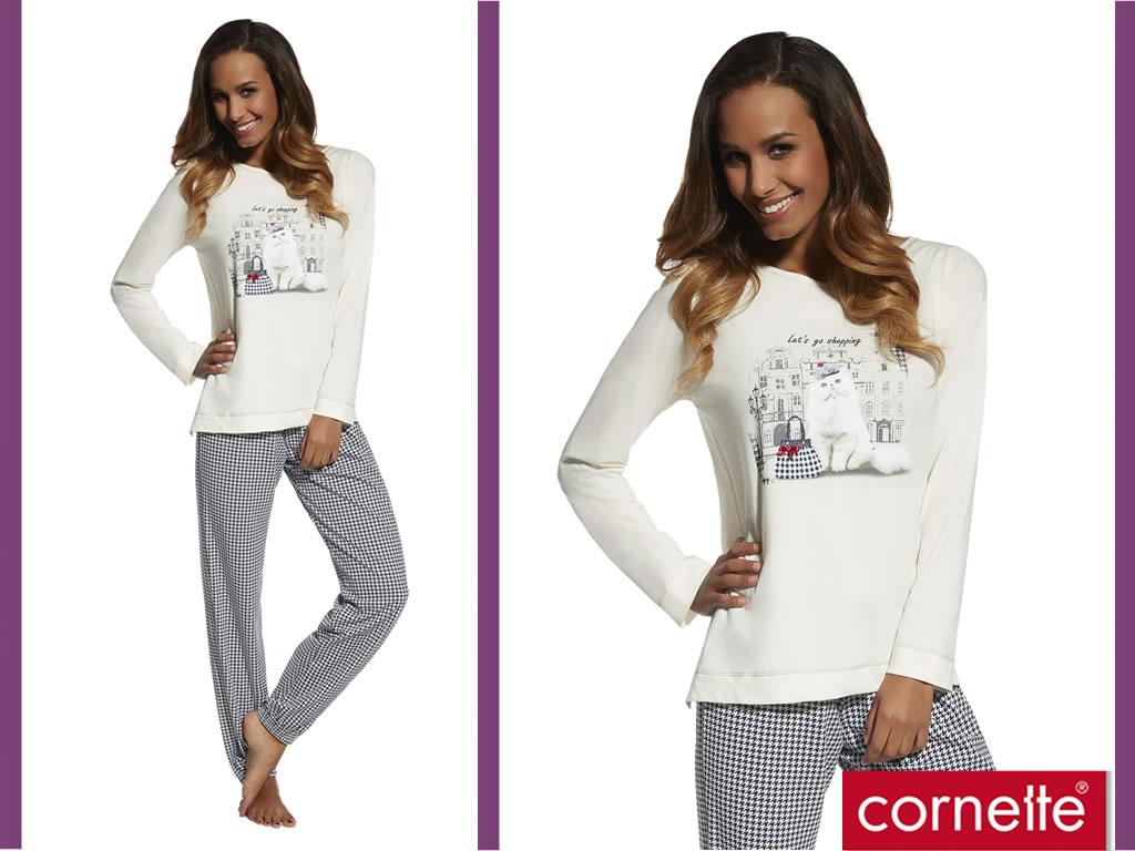 Piżama damska Lora, Cornette