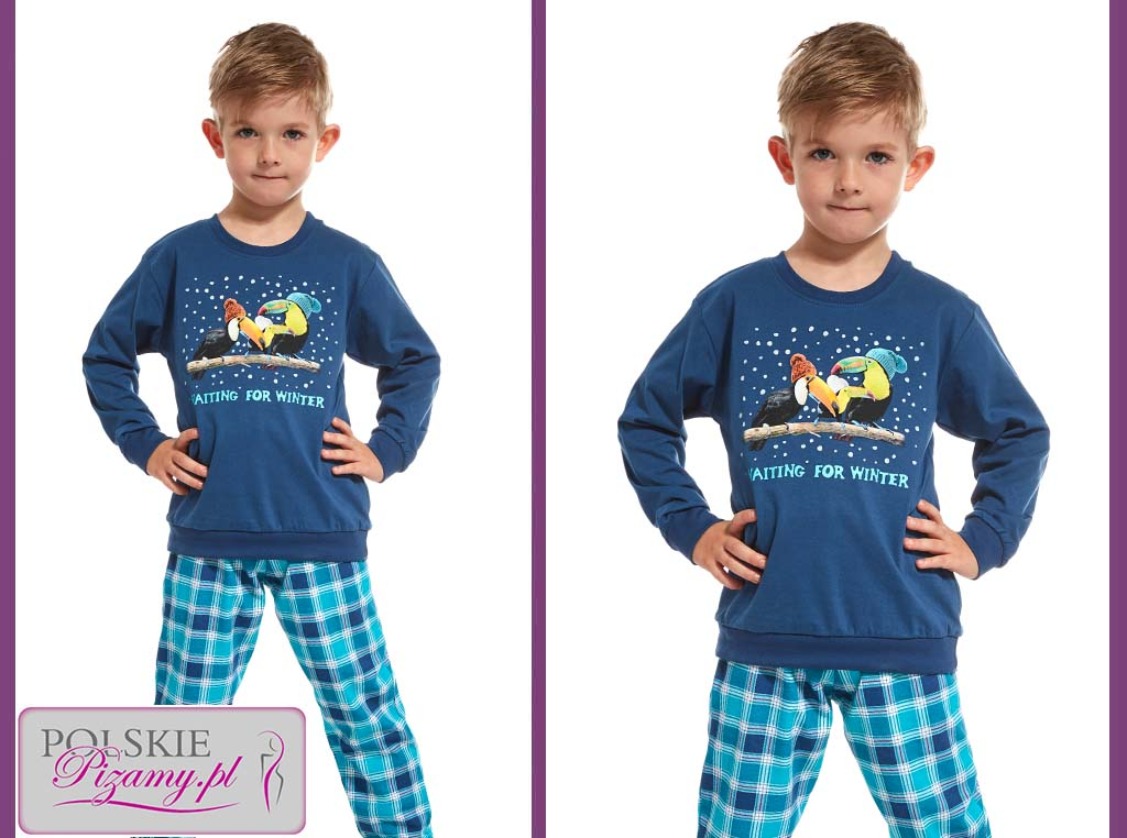 Piżama dziecięca Ricki, Cornette