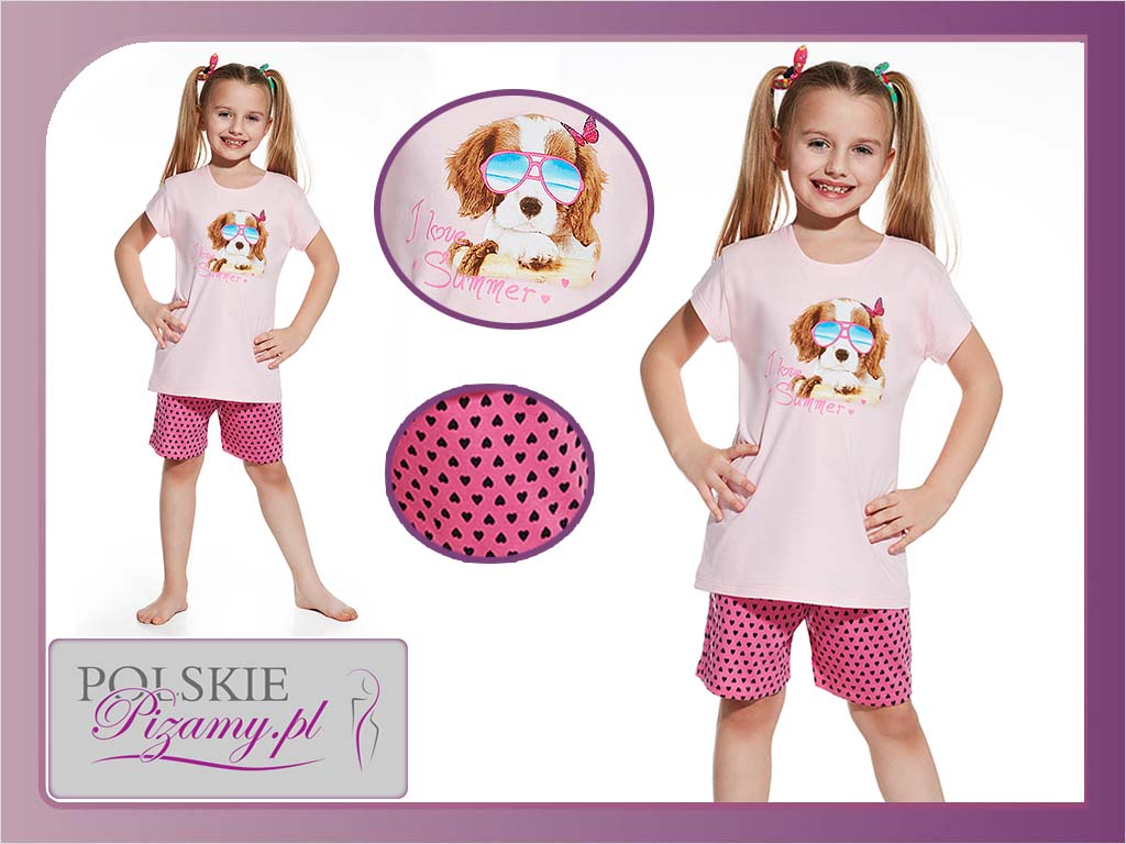 Piżama dziecięca Summer, Cornette