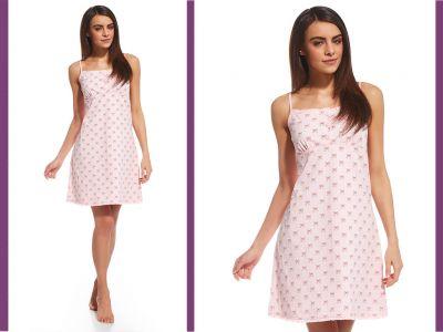 fe90bf25b7538e Koszula nocna EMY: róż · koszula-damska-emy-613-113-cornette-2