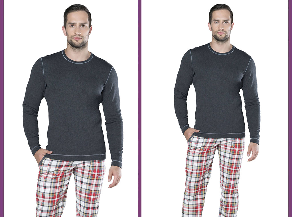 Piżama męska Rikardo, Italian Fashion