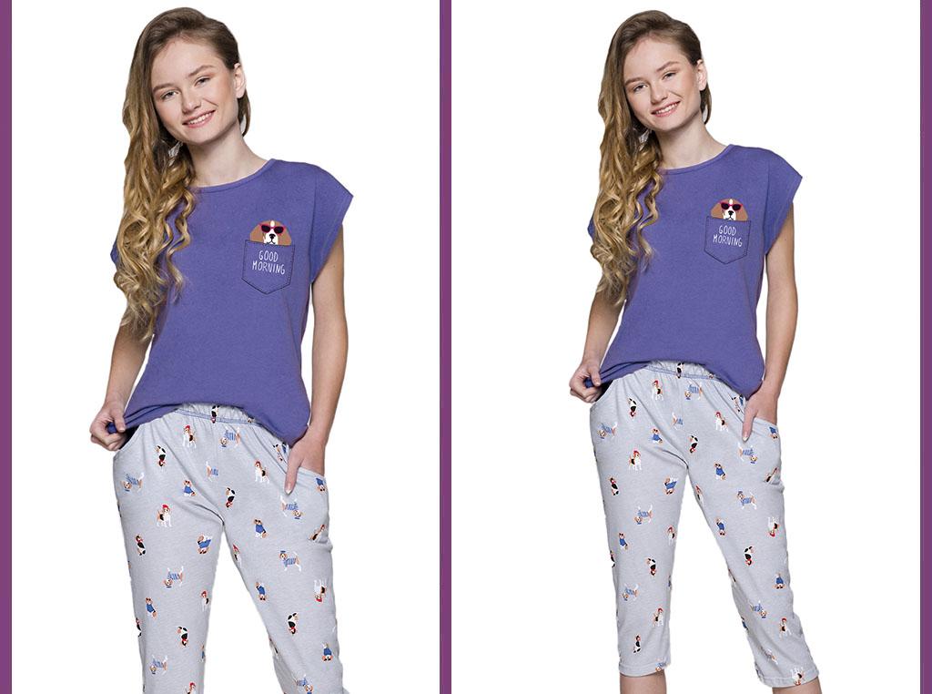 Piżama młodzieżowa Etna
